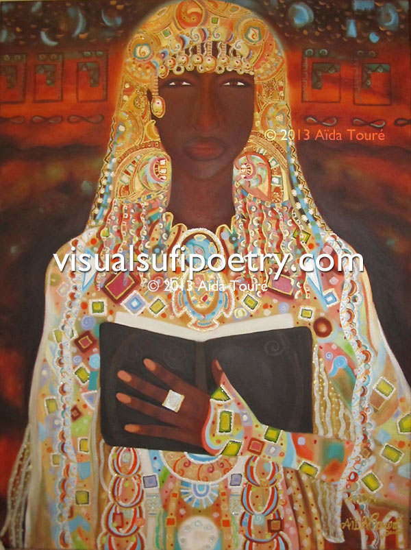 Sabia the Arabian Mystic 40x30